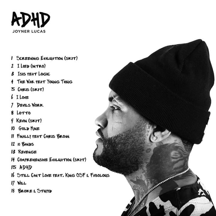 ALBUM: Joyner Lucas – ADHD | Zip File