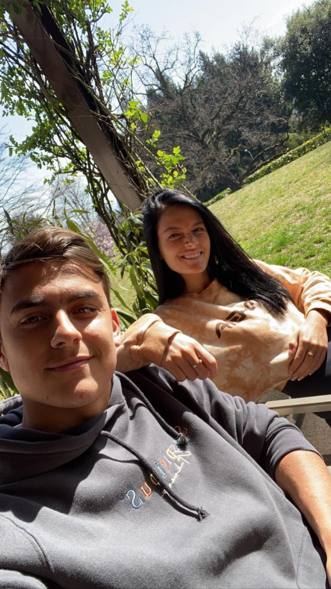 Juventus Star, Dybala And His Girlfriend, Tests Positive For Coronavirus.