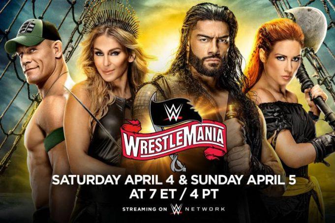 WWE – Wrestlemania 36 (2020) Day 1 (Full Show)