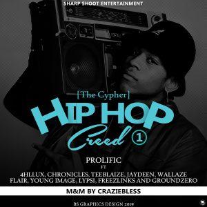 [Music] Prolific – HipHop Cypher ft 4hllu x Teeblaize x Chronicles x Jaydeen x Wallaze x Flair x Young image x Lypsi x Freezlinks x Dr. GroundZero