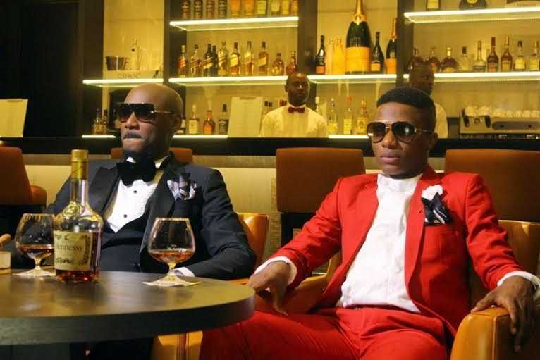 Watch moment Wizkid Snubs 2baba's hand at Patoranking listening party which got fans reacting