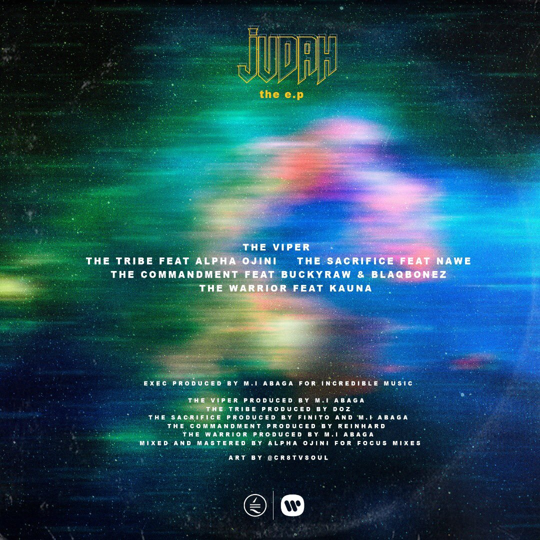 "M.I Abaga – ""Judah EP"" (Mp3 & Zip)"