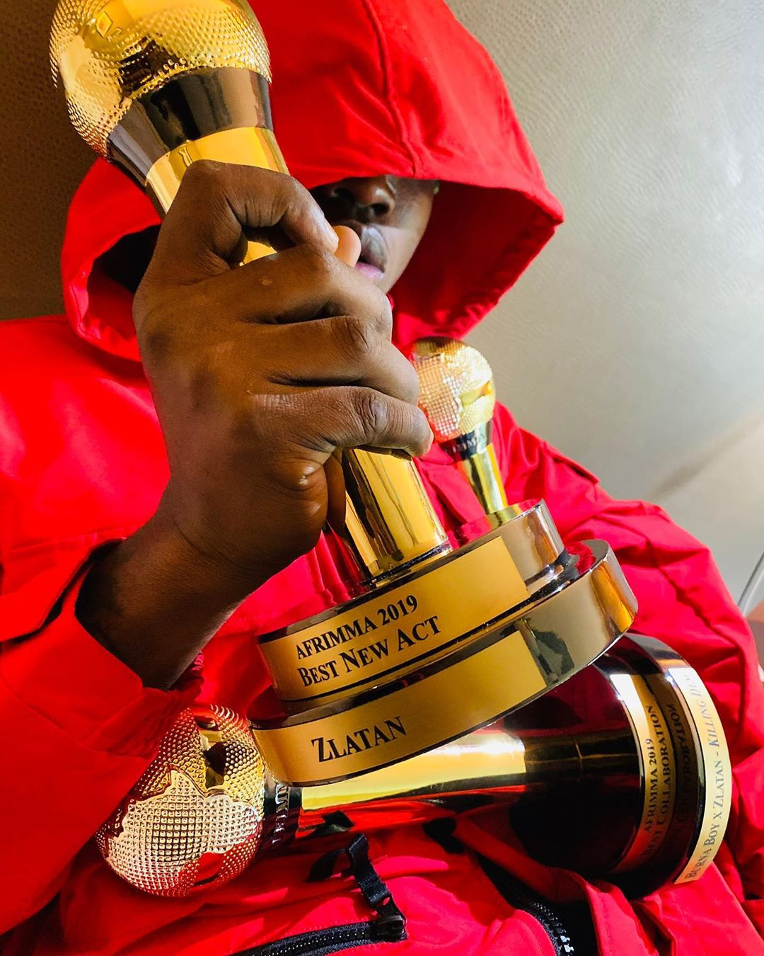 Zlatan Ibile Shows Deep Appreciations To Fans As he Bags Three Awards in The Concluded Afrimma Award