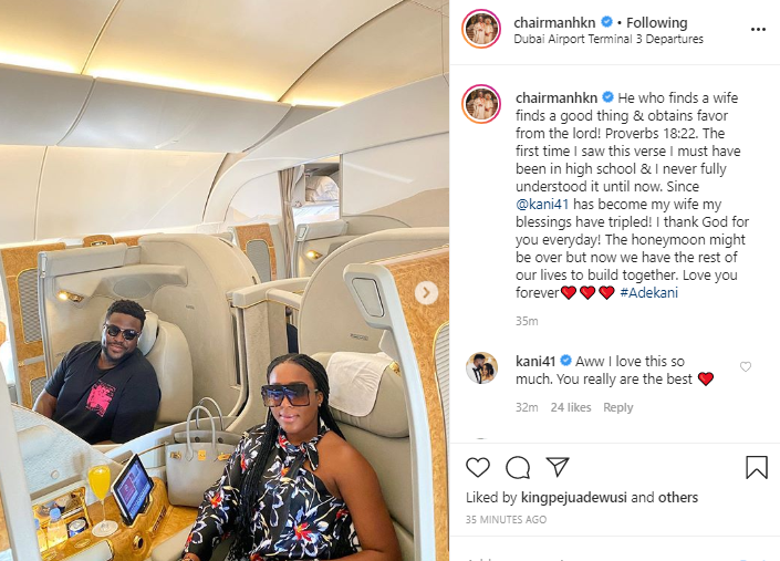 """""""Since Kani Became My Wife, My Blessings Have Tripled"""" – Davido's Older Brother Adewale Adeleke Declares"""