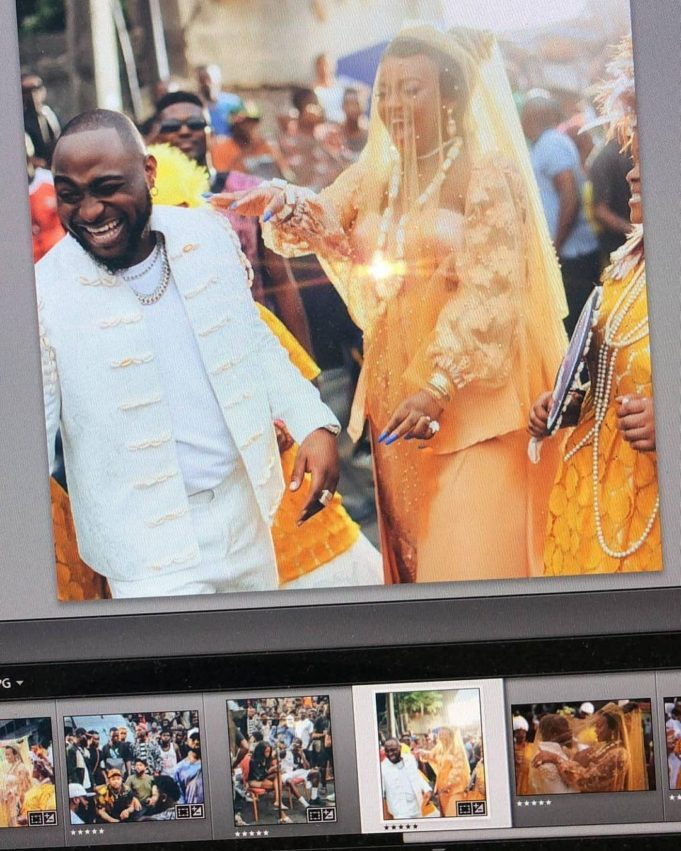 Could These Be Photos From Davido's Traditional Wedding To Chioma, Or Just A Music Video?