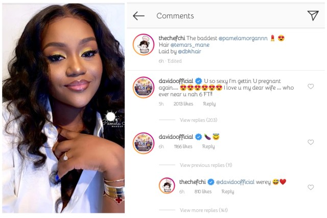 """I'm Getting You Pregnant Again"" – Davido React After Seeing New Photos of Chioma On Instagram (Photos)"